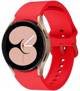 """Raudona apyrankė Samsung Galaxy Watch 4 40 / 42 / 44 / 46 mm laikrodžiui """"Tech-Protect Iconband"""""""