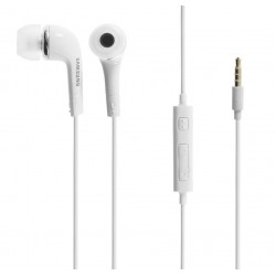 """Originalios baltos Samsung stereo HF ausinės 3,5mm """"EHS64AVFWE"""""""