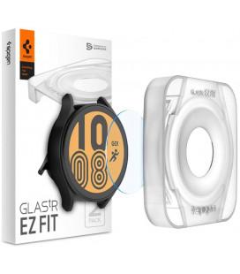 "Ekrano apsauga Samsung Galaxy Watch 4 44mm laikrodžiui ""Spigen Glas.TR EZ Fit"""
