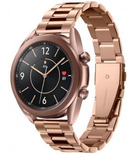"""Rausvai auksinės spalvos apyrankė Samsung Galaxy Watch 4 40 / 42 / 44 / 46 mm laikrodžiui """"Spigen Modern Fit Band"""""""