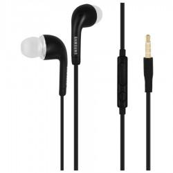 """Originalios juodos Samsung stereo HF ausinės 3,5mm """"EHS64AVFBE"""""""