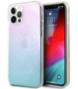 "Mėlynas dėklas Apple iPhone 12 Pro Max telefonui ""GUHCP12L3D4GGBP Guess 3D Raised Cover"""
