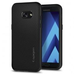 "Juodas dėklas Samsung Galaxy A3 2017 A320 telefonui ""Spigen Liquid Air"""