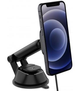 "Juodas automobilinis magnetinis laikiklis telefonui ""Spigen ITS35W Onetap Magnetic Magsafe"""