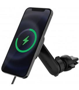 "Juodas automobilinis magnetinis laikiklis telefonui ""Spigen ITS12W Onetap Magnetic Magsafe Vent"""
