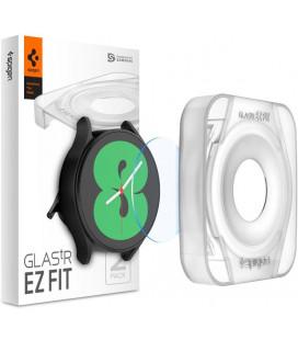 "Ekrano apsauga Samsung Galaxy Watch 4 40mm laikrodžiui ""Spigen Glas.TR EZ Fit"""