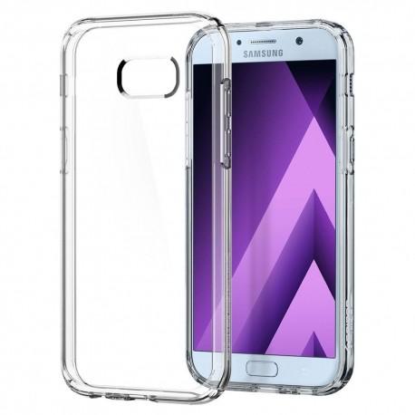 "Skaidrus dėklas Samsung Galaxy A5 2017 A520 telefonui ""Spigen Ultra Hybrid"""