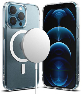 "Skaidrus dėklas Apple iPhone 13 Pro telefonui ""Ringke Fusion Magnetic Magsafe"""