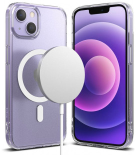 "Skaidrus dėklas Apple iPhone 13 telefonui ""Ringke Fusion Magnetic Magsafe"""