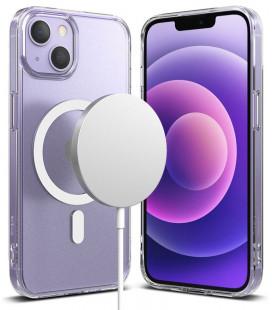 "Skaidrus dėklas Apple iPhone 13 Mini telefonui ""Ringke Fusion Magnetic Magsafe"""