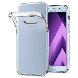 "Skaidrus dėklas Samsung Galaxy A5 2017 A520 telefonui ""Spigen Liquid Crystal"""