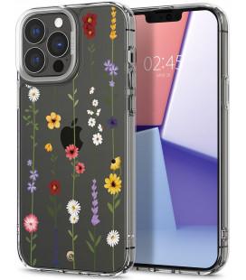 "Dėklas su gėlėmis Apple iPhone 13 Pro Max telefonui ""Spigen Cyrill Cecile Flower Garden"""