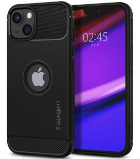 "Juodas dėklas Apple iPhone 13 Mini telefonui ""Spigen Rugged Armor"""