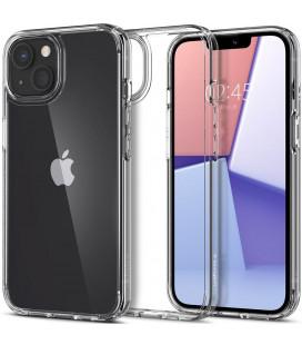 """Skaidrus dėklas Apple iPhone 13 Mini telefonui """"Spigen Ultra Hybrid"""""""