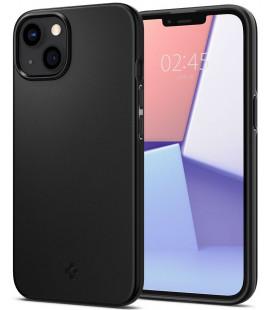 "Juodas dėklas Apple iPhone 13 Mini telefonui ""Spigen Thin Fit"""