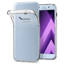 "Skaidrus dėklas Samsung Galaxy A3 2017 A320 telefonui ""Spigen Liquid Crystal"""