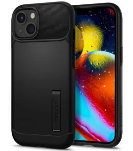 "Juodas dėklas Apple iPhone 13 Mini telefonui ""Spigen Slim Armor"""