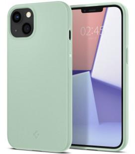 "Mėtos spalvos dėklas Apple iPhone 13 Mini telefonui ""Spigen Thin Fit"""
