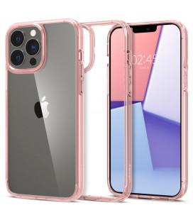"Rožinis dėklas Apple iPhone 13 Pro Max telefonui ""Spigen Ultra Hybrid"""