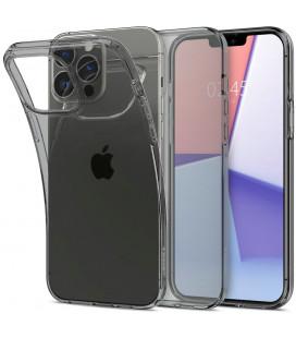 "Skaidrus/pilkas dėklas Apple iPhone 13 Pro Max telefonui ""Spigen Crystal Flex"""