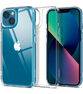 "Skaidrus dėklas Apple iPhone 13 Mini telefonui ""Spigen Quartz Hybrid"""