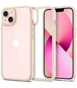 "Smėlio spalvos dėklas Apple iPhone 13 Mini telefonui ""Spigen Ultra Hybrid"""