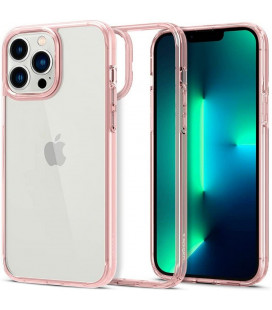 "Rožinis dėklas Apple iPhone 13 Pro telefonui ""Spigen Ultra Hybrid"""
