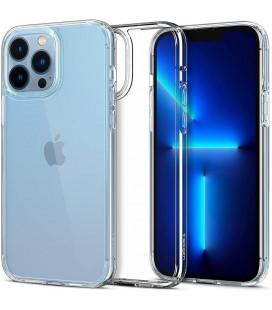 """Skaidrus dėklas Apple iPhone 13 Pro Max telefonui """"Spigen Ultra Hybrid"""""""