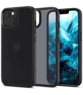 "Juodas (Frost) dėklas Apple iPhone 13 telefonui ""Spigen Ultra Hybrid"""