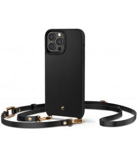 "Juodas dėklas Apple iPhone 13 Pro Max telefonui ""Spigen Cyrill Classic Charm"""