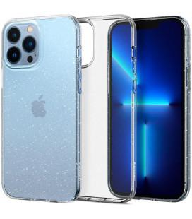 "Skaidrus dėklas su blizgučiais Apple iPhone 13 Pro Max telefonui ""Spigen Liquid Crystal Glitter"""