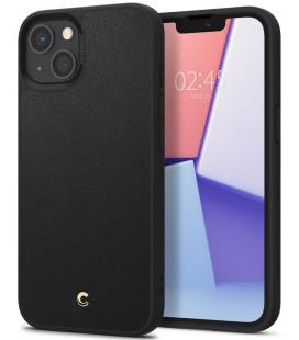 "Juodas dėklas Apple iPhone 13 telefonui ""Spigen Cyrill Leather Brick"""