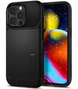 """Juodas dėklas Apple iPhone 13 Pro telefonui """"Spigen Slim Armor"""""""