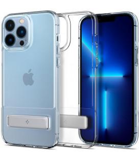 "Skaidrus dėklas Apple iPhone 13 Pro Max telefonui ""Spigen Ultra Hybrid S"""