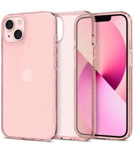"Rožinis dėklas su blizgučiais Apple iPhone 13 telefonui ""Spigen Liquid Crystal Glitter"""
