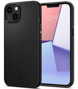 "Juodas dėklas Apple iPhone 13 telefonui ""Spigen Thin Fit"""