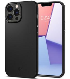 "Juodas dėklas Apple iPhone 13 Pro Max telefonui ""Spigen Thin Fit"""