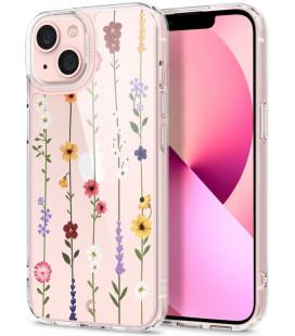 "Dėklas su gėlėmis Apple iPhone 13 telefonui ""Spigen Cyrill Cecile Flower Garden"""