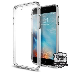 """Skaidrus dėklas Apple iPhone 6/6s telefonui """"Spigen Ultra Hybrid"""""""