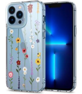 """Dėklas su gėlėmis Apple iPhone 13 Pro telefonui """"Spigen Cyrill Cecile Flower Garden"""""""