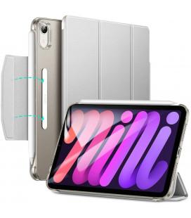 """Pilkas atverčiamas dėklas Apple iPad Mini 6 2021 planšetei """"ESR Ascend Trifold"""""""