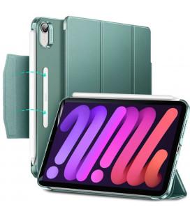 """Tamsiai žalias atverčiamas dėklas Apple iPad Mini 6 2021 planšetei """"ESR Ascend Trifold"""""""