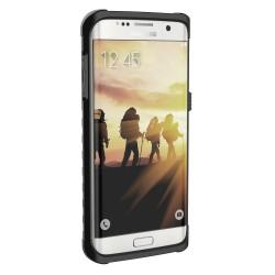 """Žalias silikoninis dėklas su blizgučiais Samsung Galaxy S7 Edge telefonui """"Crystals"""""""