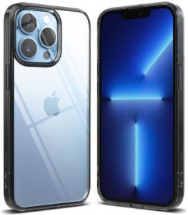 """Juodas dėklas Apple iPhone 13 Pro Max telefonui """"Ringke Fusion"""""""