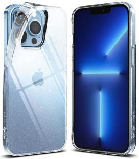 """Skaidrus dėklas su bluzkučiais Apple iPhone 13 Pro Max telefonui """"Ringke Air Glitter"""""""