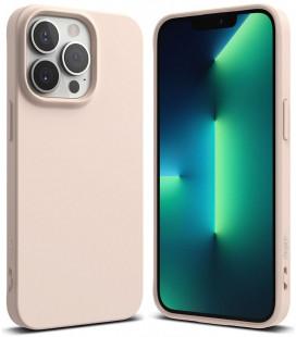"""Smėlio spalvos dėklas Apple iPhone 13 Pro Max telefonui """"Ringke Air S"""""""
