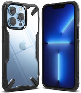 """Juodas dėklas Apple iPhone 13 Pro telefonui """"Ringke Fusion X"""""""