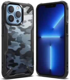 """Juodas (Camo) dėklas Apple iPhone 13 Pro telefonui """"Ringke Fusion X"""""""