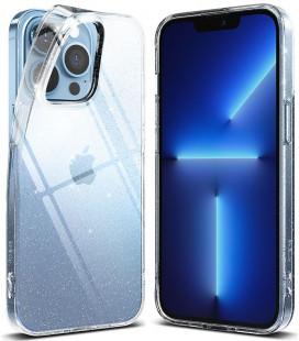 """Skaidrus dėklas su blizgučiais Apple iPhone 13 Pro telefonui """"Ringke Air Glitter"""""""