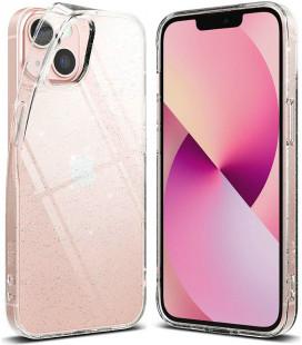 """Skaidrus dėklas su blizgučiais Apple iPhone 13 telefonui """"Ringke Air Glitter"""""""